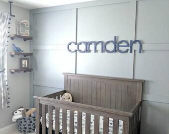 Nursery wall letters | Etsy