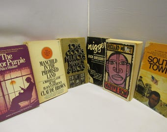 This is an African American Book Lot of 6