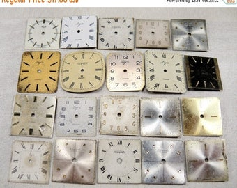 ON SALE Vintage Watch Faces - set of 20 - c8