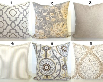 tan and gray pillows grey throw pillow covers tan pillows grey throw pillow covers tan u0026