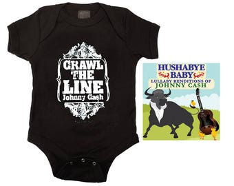 Johnny Cash Baby Gift Set