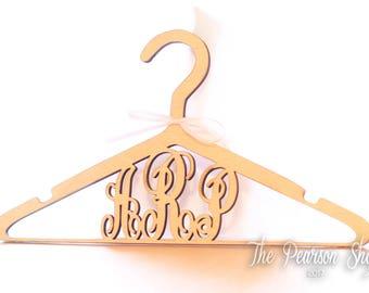 Monogram Wooden Hanger
