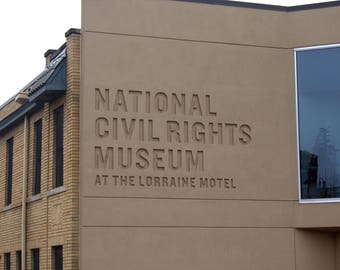 National Civil Rights Museum Sign