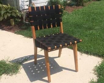 Early Jens Risom Side Chair  1950's