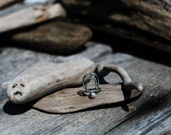 La Luna Sterling Silver Ring- Size 7.25