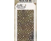 Tim Holtz Layering Stencil - Mosaic THS084