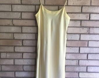 Vintage Silky Slip Dress Nightgown by Natori Small