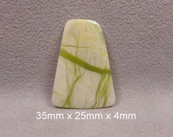 BAMBOO FOREST JADE Cabochon