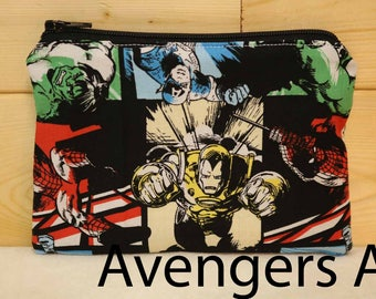 One Snack Sack, Avengers, Reusable Lunch Bags, Waste-Free Lunch, Machine Washable, Back to School, School Lunch, item #SS56