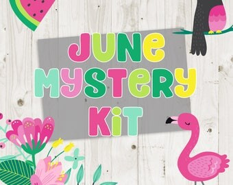 June Mystery Kit - ECLP Stickers - No Coupon Codes Please