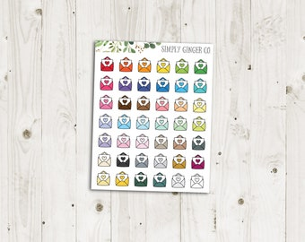 Happy Mail Planner Stickers - ECLP Stickers