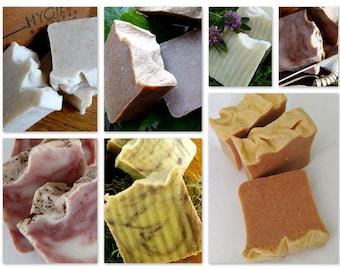 Homemade Soap, SALE, Vegan, Fall Collection, 4.5-5 oz. ea.