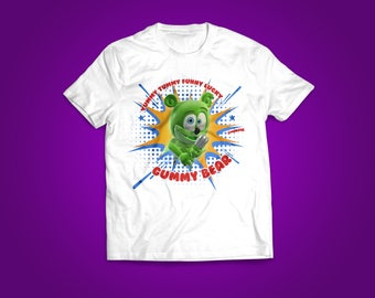 Funny Lucky Gummy Bear Youth T-Shirts