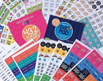 Event Planner Stickers | Pick TWO sets | Choose from 4 sticker sets | Fits any planner and calendar | Up to 1288 stickers | 100s of events