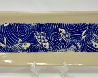 Ceramic Handmade Trays, Candy Dish, Nut Dish, Jewelry Tray. Hostess Gift