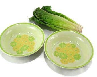 Vintage Franciscan Earthenware Vegetable Serving Bowls * Set of 2