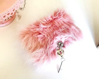 minkies . SOft furry planner or notebook covers