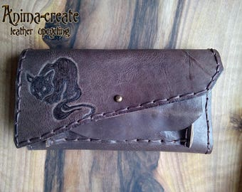 Wild Cat - a wallet for her.