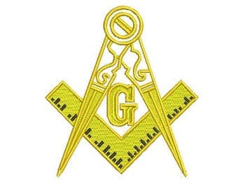 freemason embroidery design