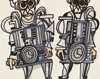 The Cybermen 8 x 10 piece