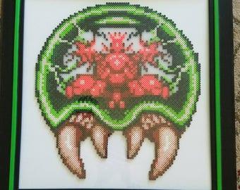 Metroid....Framed Perler Bead