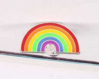1 badges Rainbow top trend metal enamel pin badge brooch