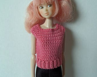 Crochet Top for Momoko dolls