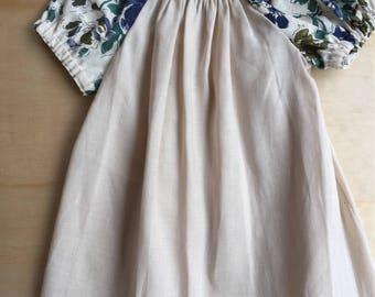 handmade from new linen cotton blend fabric size 3