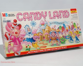 Candy Land Game from Milton Bradley 1997 COMPLETE (read description)