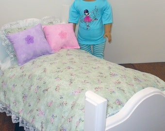 """18 Inch Doll Bedding / Doll Bedding for your 18 inch Doll / 18"""" Doll Bedding"""