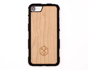 TIMBER iPhone 7 / 7 Plus Wood Skin Case