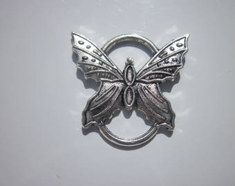 Butterfly silver 25x25mm (239) connector