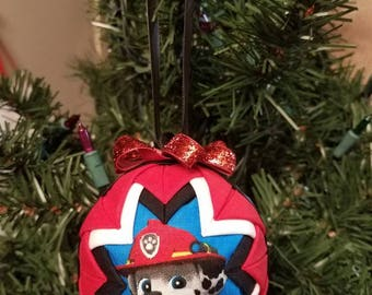 Paw Patrol Quilted Ornament