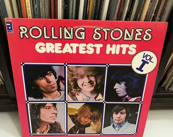 The Rolling Stones - Greatest Hits Volume I vinyl record. Canada Import