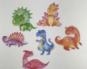 Rainbow Dinosaurs Die Cut...