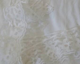 White lace piece