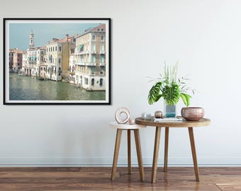 Italy photography, Venice photography,Affordable, home decor, travel print, Venetian canals, architecture, rustic art, photo wall art