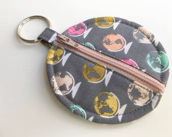Ear Bud Pouch - Zip Pouch - Pouch - Mini Pouch - Coin Purse - Coin Pouch - Zipped Pouch - Small Pouch - Coin Pouch - Zippered Pouch - Pouch