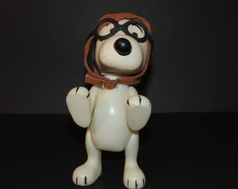1966 Snoopy Flying Ace Peanuts United Feature Syndicate Action Figure / Toy As-Is