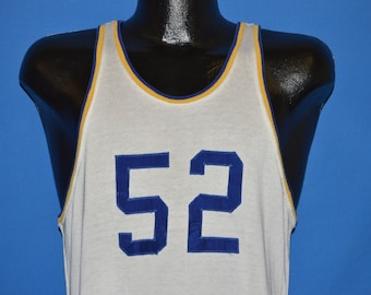 50s Jarvis & White Basketball Jersey Tank Top t-shirt Medium