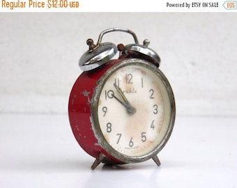 ON SALE Ruhla - Vintage Mechanical Alarm Clock - Made in Germany