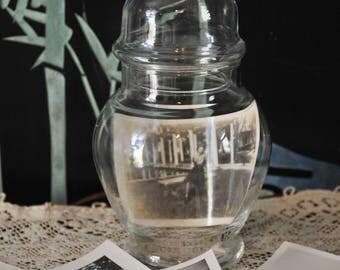 Vintage Small Apothecary Jar