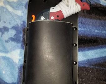 Leather Nerf Gun Hip Holster