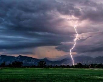 Pikes Peak Thunderstorm
