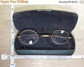 10% OFF 3 day sale Vintage Old Dr Haux Gold Filled Eyeglasses In Case Used