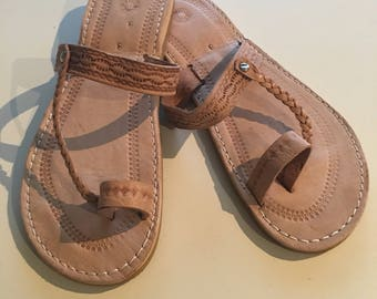 Moroccan Leather Sandals - 10 colours!