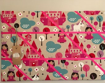 Princess and unicorn Memory board