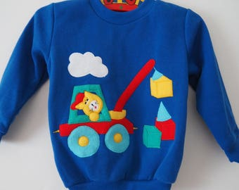 brand new vintage 70s 80s kids sweater sz 2