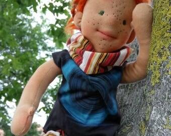 Rasta doll, Waldorf doll