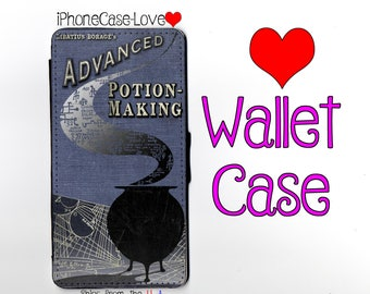 Harry Potter Advanced Potion Making Book iPhone 7 Case - Harry Potter Advanced Potion Making Book iPhone 7 Wallet Case